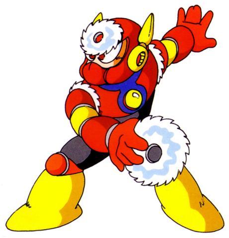 Hey! Mega Man! Want to play...Death Frisbee?